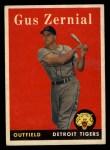 1958 Topps #112  Gus Zernial  Front Thumbnail