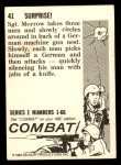 1964 Donruss Combat #41   Surprise! Back Thumbnail