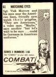 1964 Donruss Combat #61   Watching Eyes Back Thumbnail