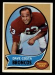 1970 Topps #122  Dave Costa  Front Thumbnail