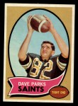 1970 Topps #74  Dave Parks  Front Thumbnail
