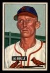 1951 Bowman #157  Al Brazle  Front Thumbnail