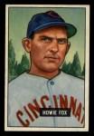 1951 Bowman #180  Howard Fox  Front Thumbnail