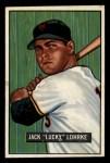 1951 Bowman #235  Jack Lohrke  Front Thumbnail