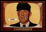 1955 Bowman #289  Arthur Gore  Front Thumbnail