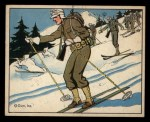 1941 Gum Inc Uncle Sam #52   Ski Troops And Patrols Front Thumbnail