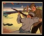 1941 Gum Inc Uncle Sam #105   Home Guard Rifle Practice Front Thumbnail