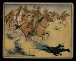 1941 Gum Inc Uncle Sam #54   Cavalry Charge Front Thumbnail