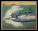 1941 Gum Inc Uncle Sam #58   Submarine Torpedo Practice Front Thumbnail