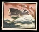 1950 Topps Freedoms War #62   Torpedo Away   Front Thumbnail