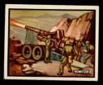 1950 Topps Freedoms War #65   Howitzer Front Thumbnail