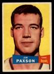 1957 Topps #73  Jim Paxson  Front Thumbnail