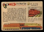 1955 Topps Rails & Sails #78   First Mogul Type Back Thumbnail