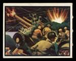 1950 Topps Freedoms War #33   Murderous Fire   Front Thumbnail