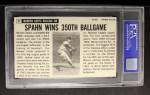 1964 Topps Giants #31  Warren Spahn   Back Thumbnail