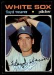 1971 Topps #227  Floyd Weaver  Front Thumbnail