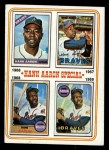 1974 Topps #5   -  Hank Aaron Special 1966-69 Front Thumbnail