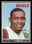 1970 Topps #606  Chico Ruiz  Front Thumbnail