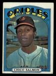 1972 Topps #646  Chico Salmon  Front Thumbnail