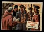 1954 Topps Scoop #97   Captain Kidd Hanged Front Thumbnail