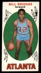 1969 Topps #86  Bill Bridges  Front Thumbnail