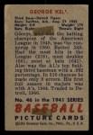1951 Bowman #46  George Kell  Back Thumbnail