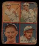 1935 Goudey  Ethan Allen / Fred Brickell / Claude Jonnard / Jimmy Wilson  Front Thumbnail