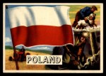 1956 Topps Flags of the World #49   Poland Front Thumbnail