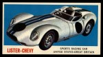 1961 Topps Sports Cars #61   Lister-Chevy Front Thumbnail