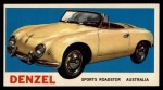 1961 Topps Sports Cars #38   Denzel Front Thumbnail