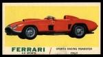 1961 Topps Sports Cars #50   Ferrari 4.9 Sports Front Thumbnail