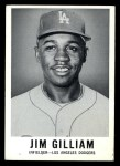 1960 Leaf #18  Jim Gilliam  Front Thumbnail