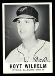 1960 Leaf #69  Hoyt Wilhelm  Front Thumbnail