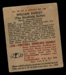 1948 Bowman #80  William Dudley  Back Thumbnail