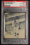 1934 Batter Up #186  Lon Warneke   Front Thumbnail