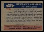 1959 Fleer #48   -  Ted Williams Ted Returns Back Thumbnail