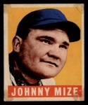 1948 Leaf #46  Johnny Mize  Front Thumbnail