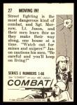 1964 Donruss Combat #27   Moving In! Back Thumbnail