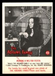 1964 Donruss Addams Family #49 CAN  Weaving wig for Fester  Front Thumbnail