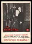 1964 Donruss Addams Family #52 AM  I need a man's deodorant Front Thumbnail