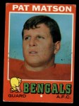 1971 Topps #72  Pat Matson  Front Thumbnail