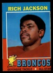 1971 Topps #81  Rich Jackson  Front Thumbnail