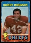 1971 Topps #88  Johnny Robinson  Front Thumbnail