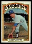 1972 Topps #11  Bobby Valentine  Front Thumbnail