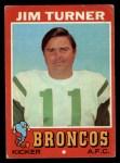 1971 Topps #136  Jim Turner  Front Thumbnail