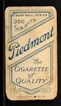 1909 T206 BRN Ed Abbaticchio  Back Thumbnail