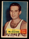 1957 Topps #16  Dick McGuire  Front Thumbnail