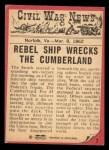 1965 A & BC England Civil War News #7   Death at Sea Back Thumbnail