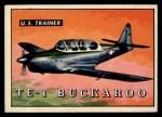 1952 Topps Wings #196   TE-1 Buckaroo Front Thumbnail