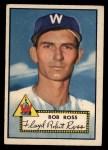 1952 Topps #298  Bob Ross  Front Thumbnail